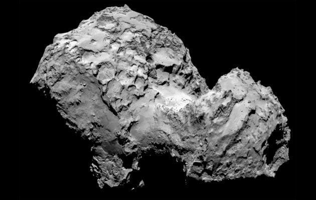 Rosetta rivoluziona le origini dell' acqua sulla Terra