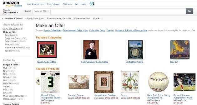 Amazon testa la contrattazione dei prezzi