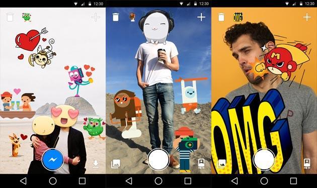 Facebook lancia Stickered, app per applicare Stickers sulle foto