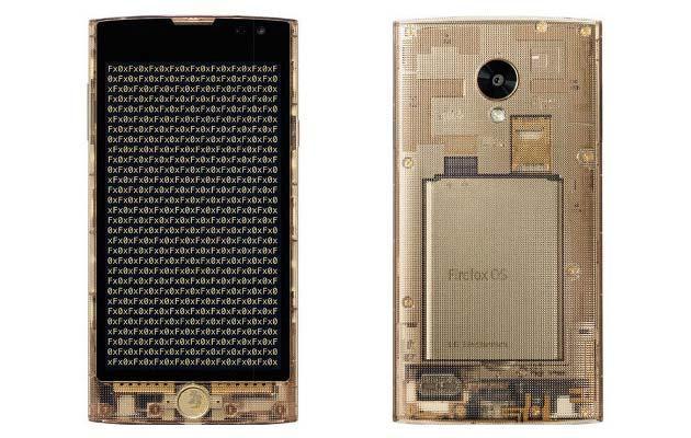 LG FX0, il telefono trasparente con Firefox OS