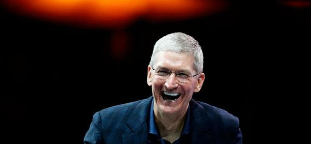Tim Cook uomo dell' Anno per Financial Times