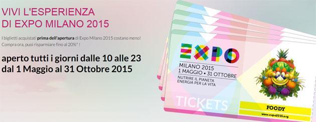 Expo Milano 2015, biglietti disponibili nei negozi TIM