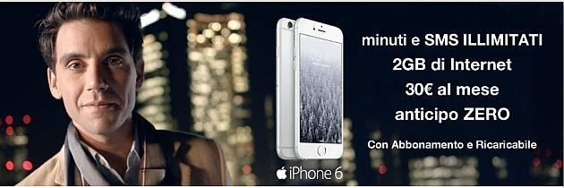 Tre Christams Edition: iPhone 6 64 GB al prezzo del 16 GB