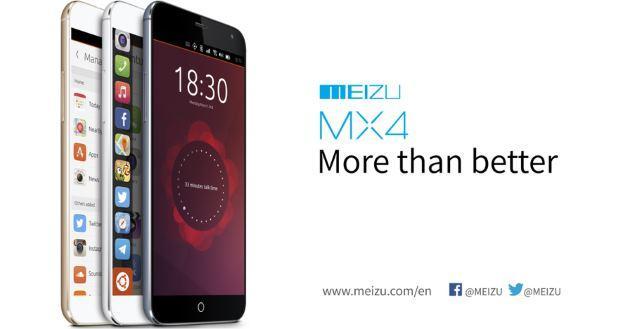 Meizu MX4: il secondo Smartphone Ubuntu al MWC 2015