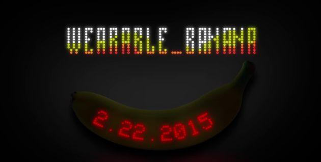 Dimenticate Apple Watch, Dole fa una banana indossabile