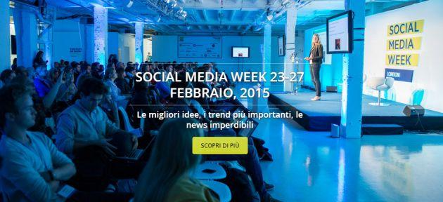 Social Media Week 2015 al via a Milano