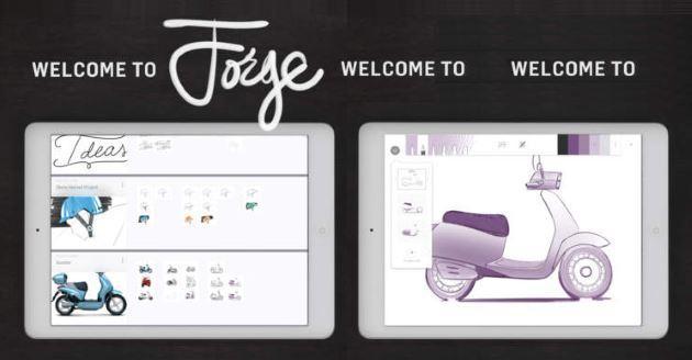 Forge, nuova App iPad per gli amanti del Disegno