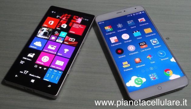 Meizu MX4 vs Nokia Lumia 930, il nostro confronto