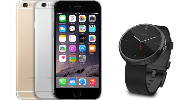 iPhone 6, le notifiche sui dispositivi Android Wear senza Jailbreak
