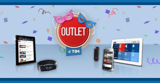 TIM Outlet: smartphone e tablet scontati di Febbraio