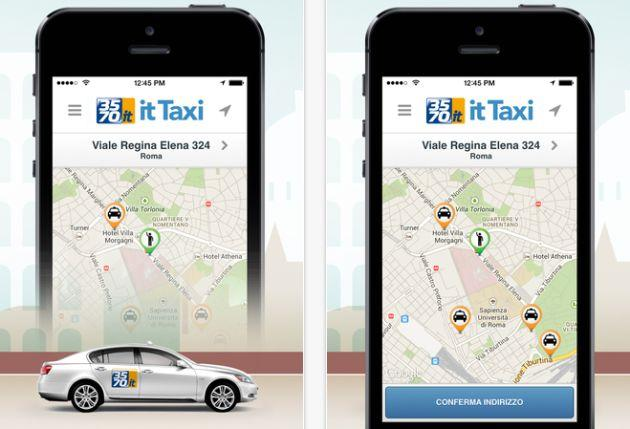 It Taxi, app per prenotare il Taxi in Italia