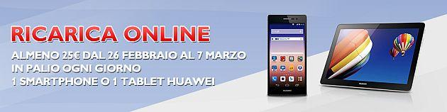 Tim Ricarica Online, vinci Huawei Ascend P7 o Huawei MediaPad 10 Link