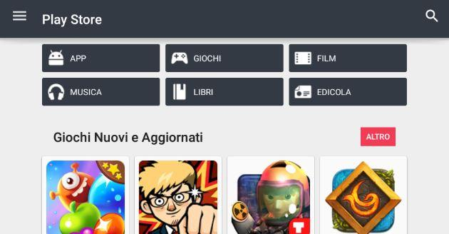 Google Play, come Disabilitare aggiornamento automatico App