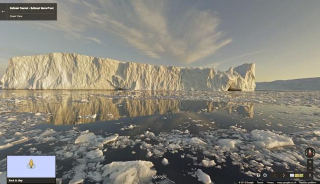 Google Street View sbarca in Groenlandia