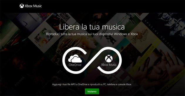 Microsoft integra One Drive con Xbox Music