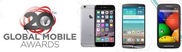 MWC 2015, Global Mobile Awards: iPhone 6 e LG G3 eletti migliori smartphone