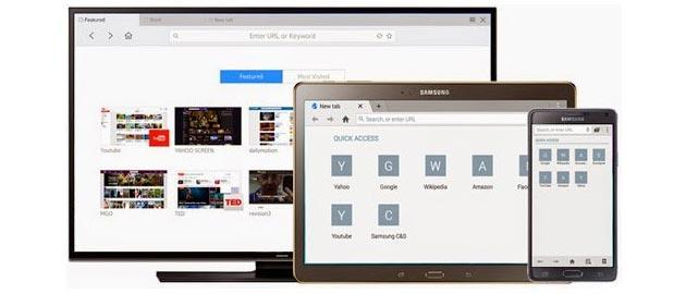Samsung prepara nuovo Browser web per telefoni, tablet e TV