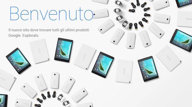 Google Store apre nuovo negozio online per cellulari, tablet e PC di Google