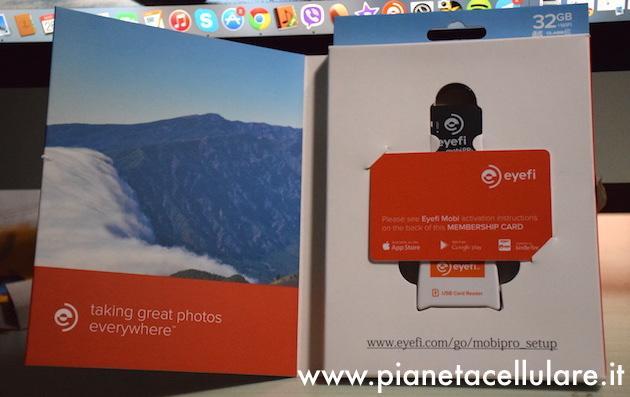 Recensione Eyefi MobiPro, scheda SD per rendere Wireless ogni fotocamera