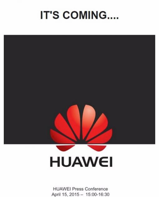 Huawei Ascend P8: presentazione ufficiale il 15 Aprile a Londra