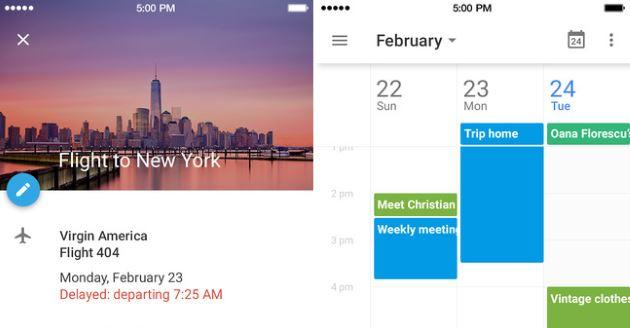 Google: App Calendar ora disponibile anche per iPhone