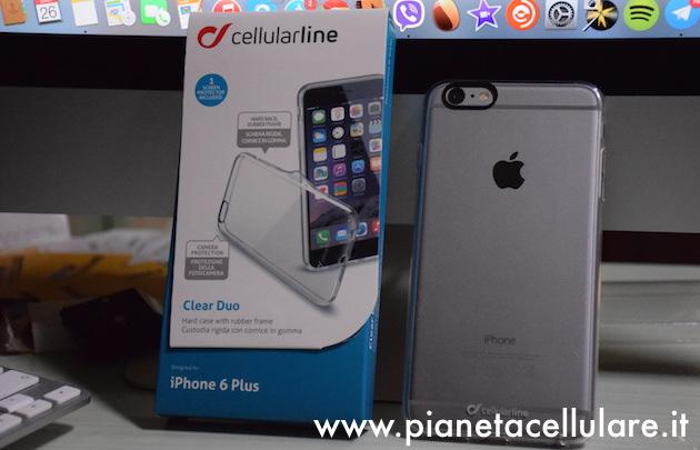 Recensione Cover Clear Duo Cellularline per Apple iPhone 6 Plus