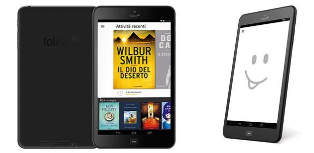 Tolino Tab 8, nuovo tablet Android da 200 euro