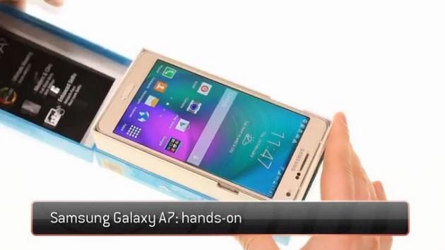 Samsung Galaxy A7: video di unboxing del nuovo Galaxy A7