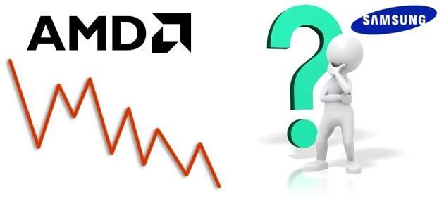 Samsung potrebbe acquistare AMD
