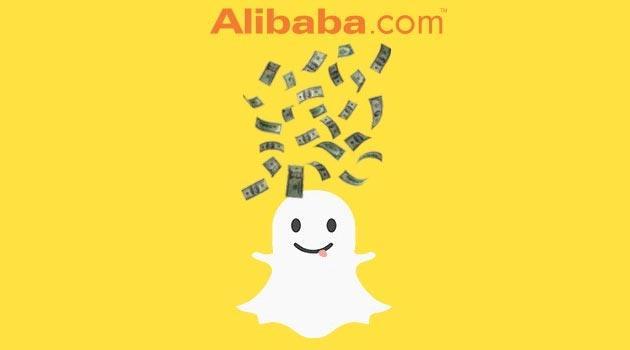 Alibaba investe in Snapchat 200 milioni di dollari