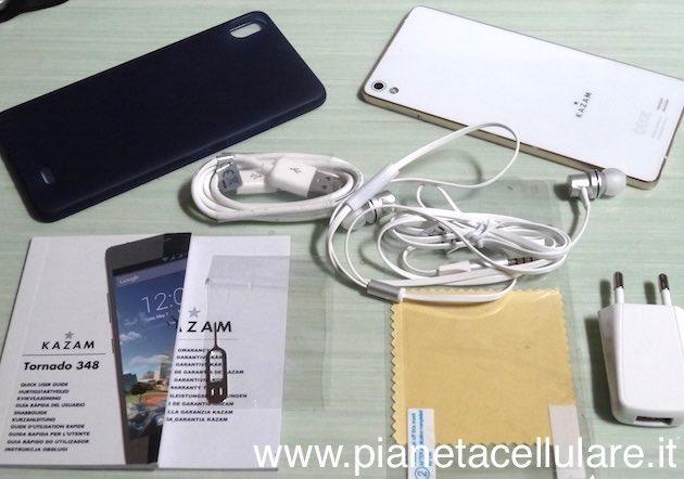 Kazam Tornado 348, Unboxing Smartphone Android da soli 5.1 mm