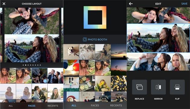 Instagram  Layout, nuova app per creare collage di foto