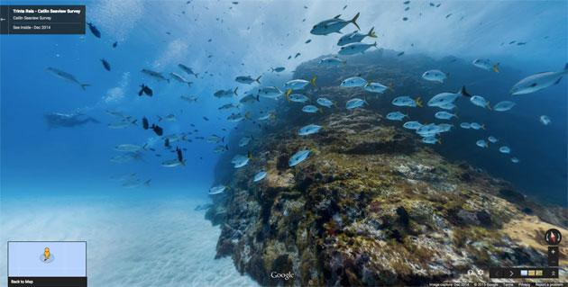 Google Street View ci porta al largo delle Isole brasiliane