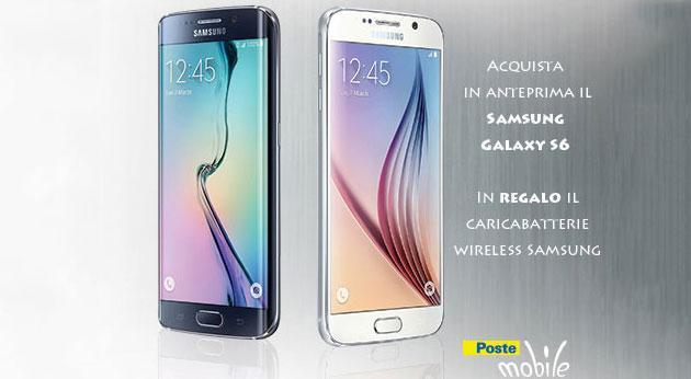 PosteMobile: Samsung Galaxy S6 e S6 Edge in promo