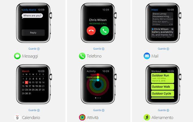 Apple Watch: tutte le applicazioni compatibili