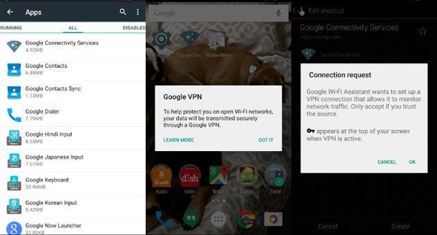 Google potrebbe lanciare un proprio servizio VPN per Android
