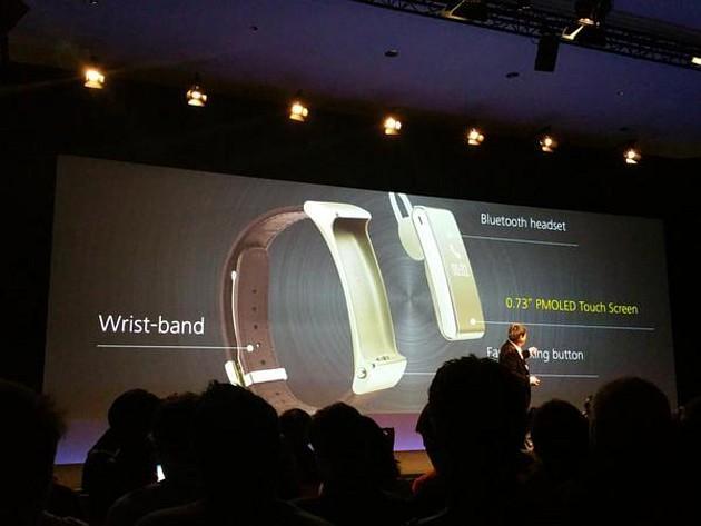 Huawei TalkBand B2 , Huawei Talkband N1, Smartband e Auricolari Mwc 2015