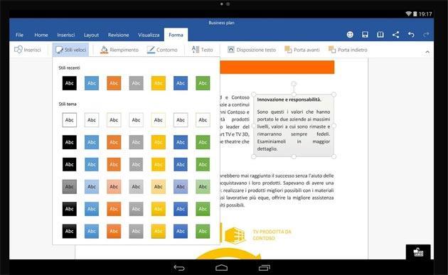 Microsoft porta le sue App su smartphone e tablet Android
