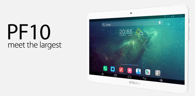 XTOUCH presenta PF10, il tablet per mamme e bimbi