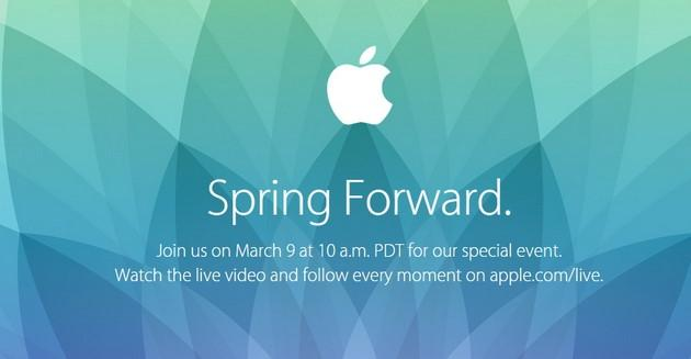 Apple Watch: evento Spring forward in diretta streaming