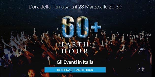 Earth hour 2015, Sabato si spengono le luci in 192 paesi