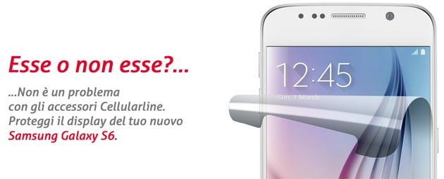 Samsung Galaxy S6, S6 Edge: gli accessori CellularLine