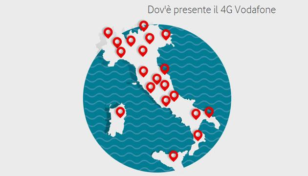 Vodafone trasforma suoi negozi nella Casa del 4G