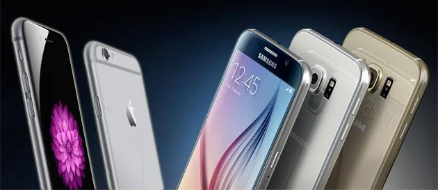 Samsung Galaxy S6 o Apple iPhone 6 a Confronto: quale scegliere