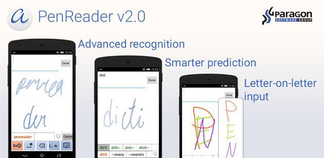 PenReader 2, nuovo motore di manoscrittura per Android