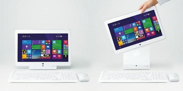 Fujitsu Lifebook GH77-T e Fujitsu Lifebook T725: tablet ibrido da 15.6 pollici