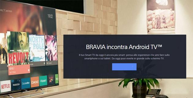 Sony Android TV Serie 2015 in vendita in Italia