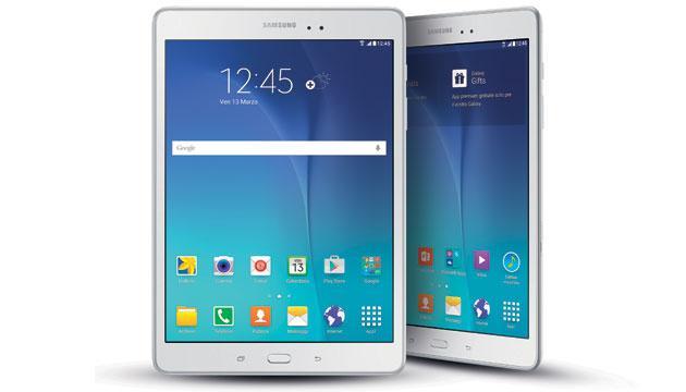 Tablet Samsung Galaxy Tab A 9.7 in Italia da 299 euro