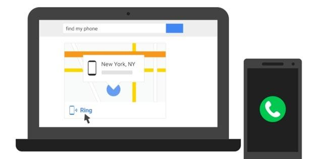 Google Find my Phone: Attivata localizzazione Android per individuare telefono perso o rubato