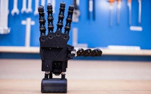 SoftHand: Italiana la prima mano artificiale stampata in 3d